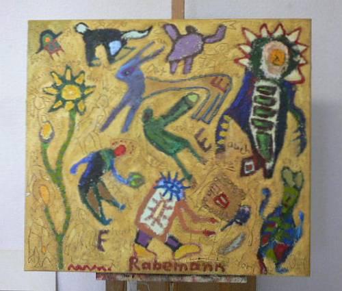 """Galerie Rabemann Böblingen: """"Das Wort am Ort"""""""
