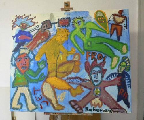 """Galerie Rabemann Böblingen: """"Die Geburt der Freude"""""""