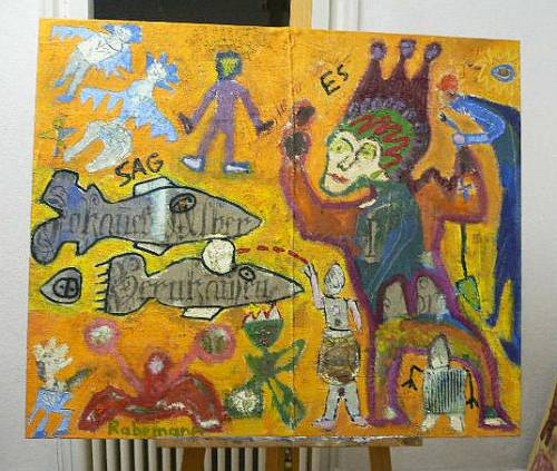"""Galerie Rabemann Böblingen: """"Vom Sehen und Sagen"""""""